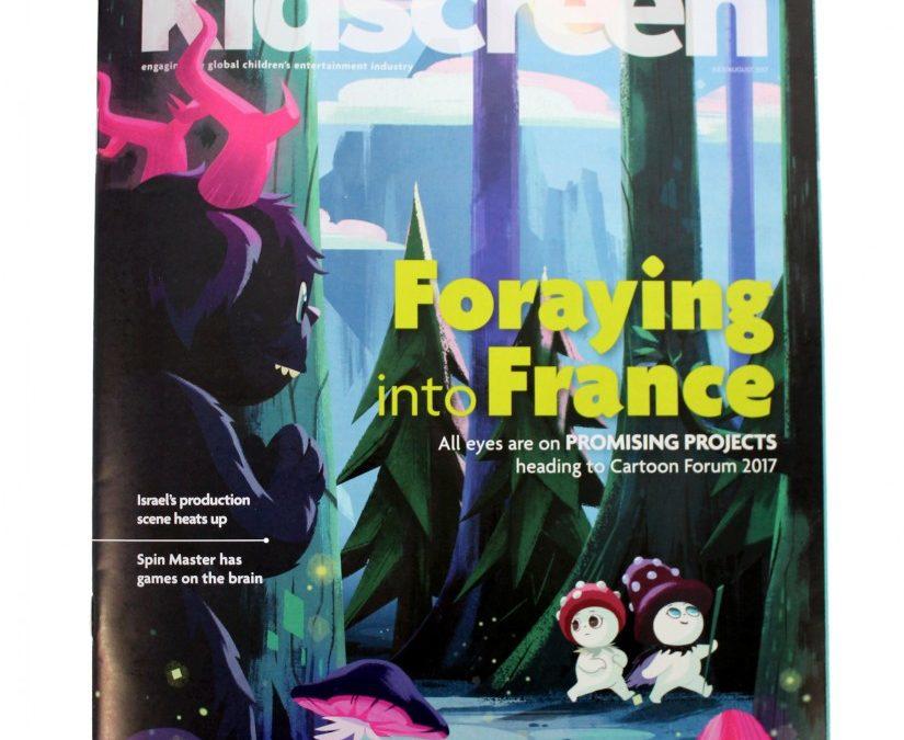 Tulipop featured on Kidscreen Cartoon Forum issue